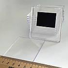 Заготовки для магнитов акриловых. Размер 65х65 мм, под фото 57х57 мм. Оптом и в розницу, фото 2