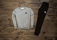 Мужской спортивный костюм Reebok 2 отличного качества Реплика