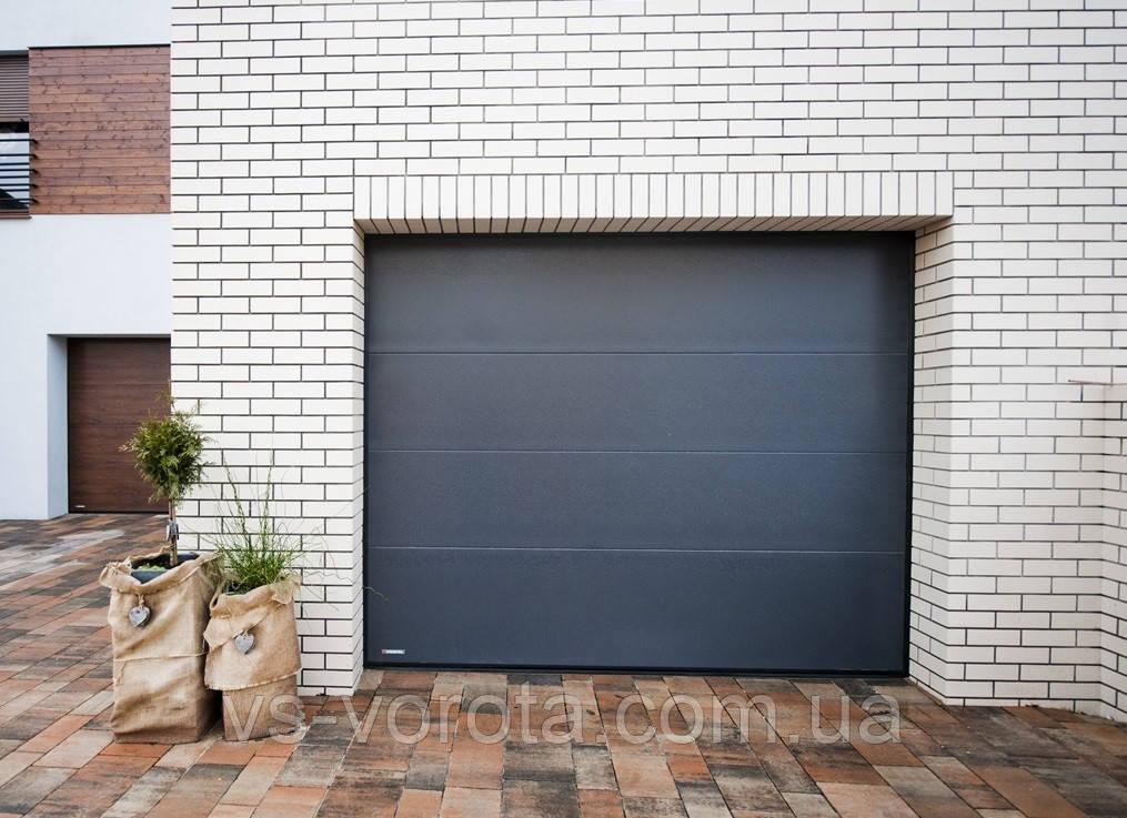 Ворота RYTERNA размер 5500х2200 мм - TLB Литва - гаражные секционные