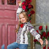 Вышиванка для девочки Сказка, фото 1
