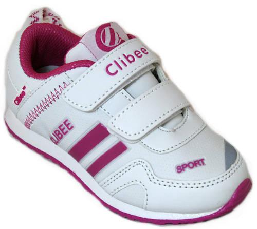Детские кроссовки для девочек Clibee Польша размеры 25-30