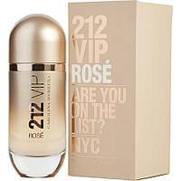 Женский парфюм Carolina Herrera 212 VIP Rose Are You On The List (80 мл), фото 1