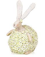 """Пасхальный декор статуэтка """"Кролик"""" 18 см"""
