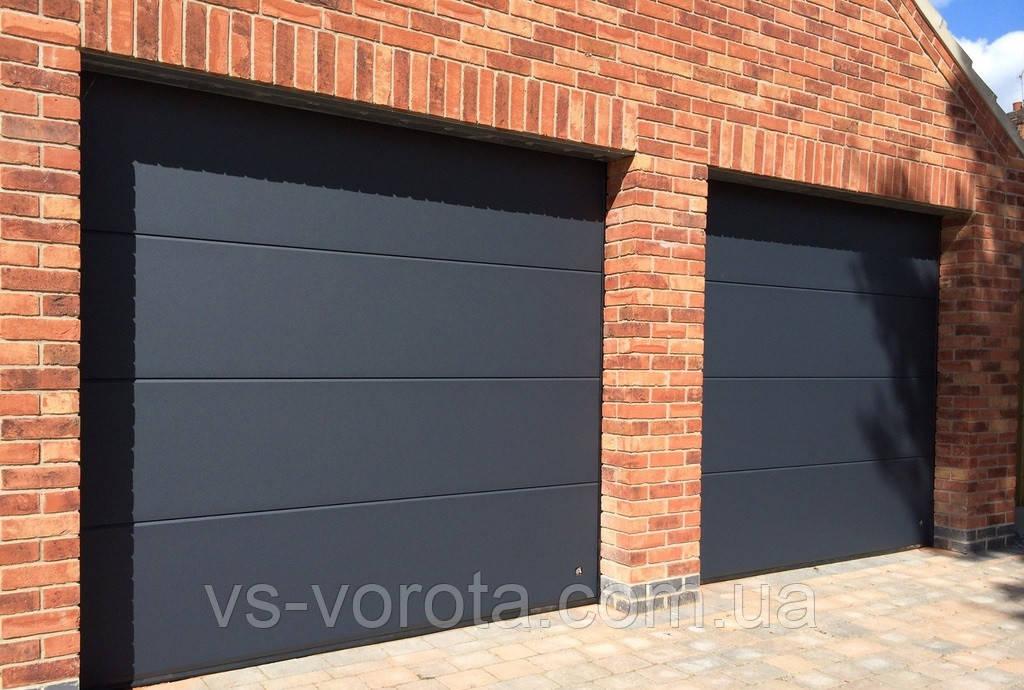 Ворота RYTERNA размер 4500х2200 мм - TLB Литва - гаражные секционные