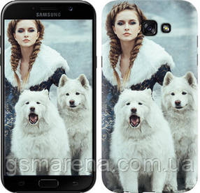 Чехол на Samsung Galaxy A7 (2017) Winter princess