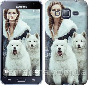 Чехол на Samsung Galaxy J3 Duos (2016) J320H Winter princess