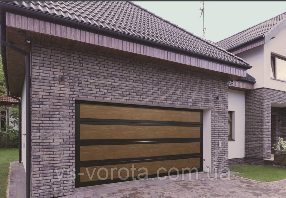 Ворота RYTERNA размер 3600х2200 мм - TLB Литва - гаражные секционные