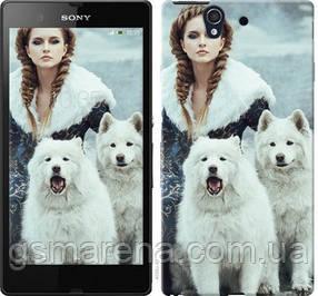 Чехол на Sony Xperia Z C6602 Winter princess