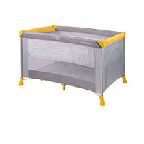Манеж Bertoni VERONA 2L (grey&yellow)