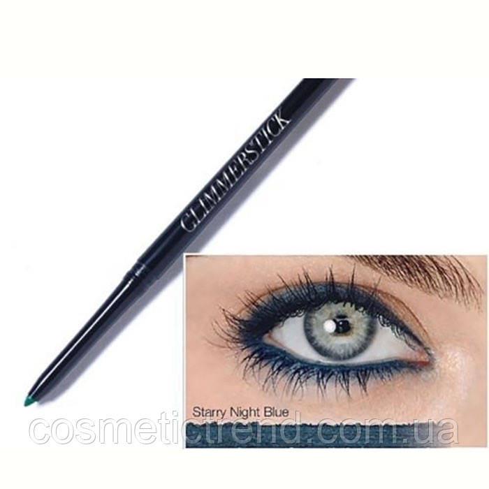 Avon cosmetics True color eyeliner Карандаш механический для глаз Starry Night Blue  (темно-синий перламутр)
