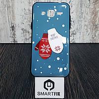 Чехол с рисунком для Samsung J3 2016 (J320)  Перчатка