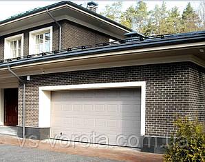 Ворота RYTERNA R40 Филенка размер 2700х2200 мм секционные гаражные