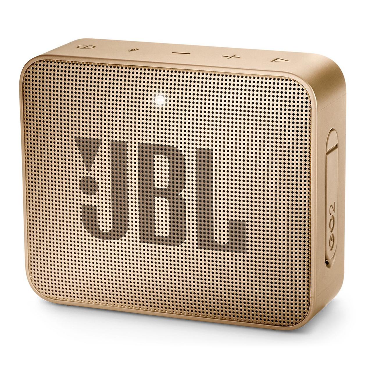 Портативна колонка JBL GO 2 (Champagne) JBLGO2CHAMPAGNE