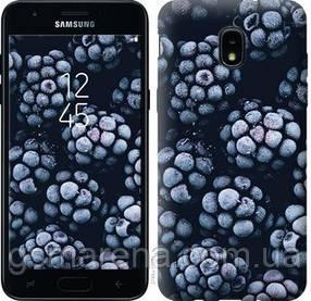 Чехол на Samsung Galaxy J3 2018 Морозная ежевика