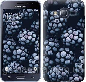 Чехол на Samsung Galaxy J3 Duos (2016) J320H Морозная ежевика