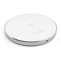 Бездротовий ЗП Satechi Wireless Charging Pad  ( Silver )