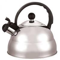 Чайник Stenson со свистком 2.5 л Steel (МH-0298)