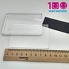 Акриловые рамки для магнитов 95х65 мм, заготовки под вставку 89х59 мм, фото 2