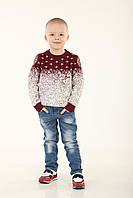 Детский свитер для мальчика 234RED 110, 140 см, Красный