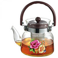 Заварочный чайник с ситечком Stenson 0.6 л (MS-0131)