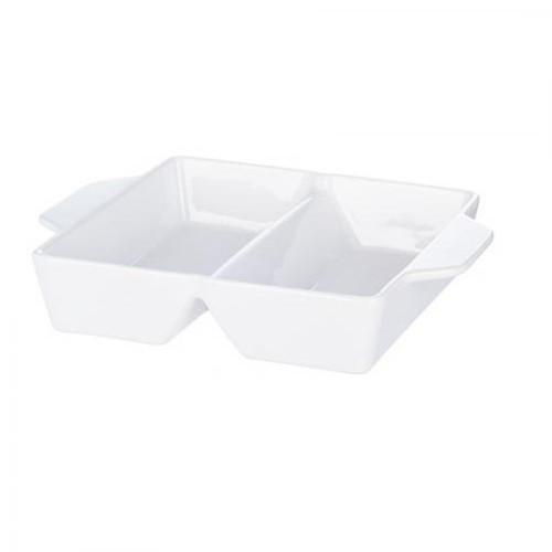 Форма для выпечки двойная Stenson 31.5 х 24 х 7 см White (V030)