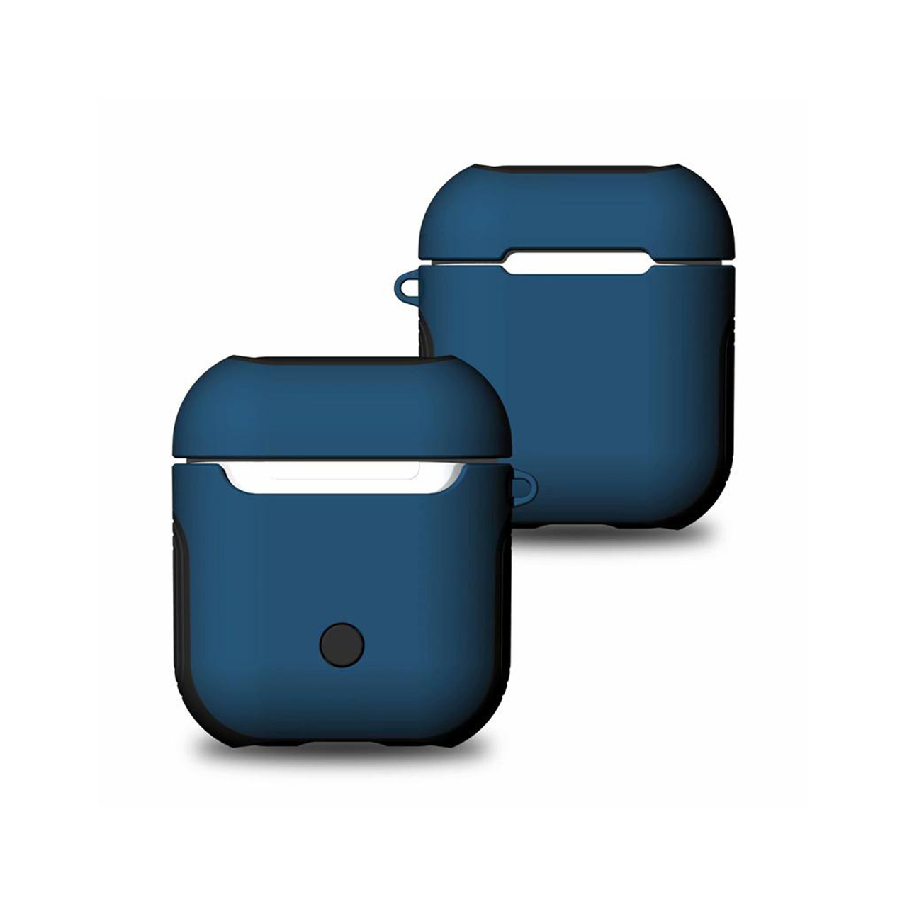 Чохол для AirPods Soft TPU + Hard PC Case ( Blue )