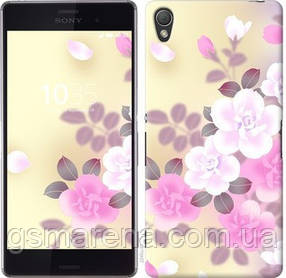 Чехол на Sony Xperia Z3 dual D6633 Японские цветы