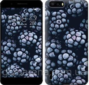 Чехол на Huawei Honor 6 Plus Морозная ежевика
