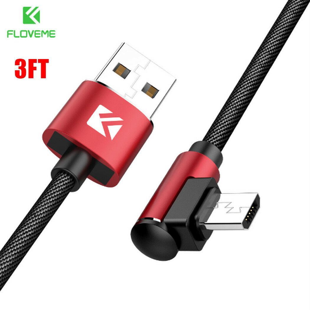 Usb кабель Android microUSB для быстрой зарядки и передачи данных 1 м (красный)