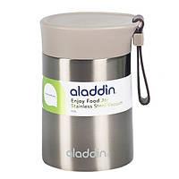 Пищевой термос Aladdin Enjoy Food 0.4 л (серый)