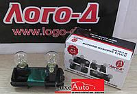 Плата заднего фонаря ВАЗ 2110 прав. наружного, в сб. с патронами с лампами 2110-3716092 Лого-Д