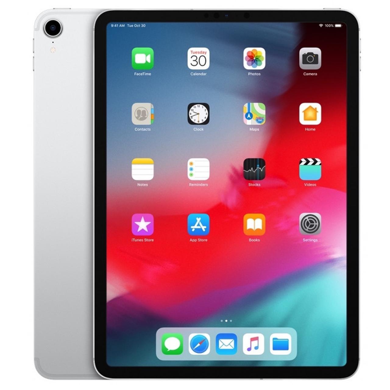 "Apple iPad Pro 11"" WiFi + Cellular 512GB Silver (MU1M2, MU1U2) (2018)"