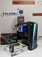 Игровой компьютер, AMD Ryzen 7 2700 4.1GHz (16 потоков), 8ГБ DDR4, SSD 240ГБ, GTX 1060 6ГБ