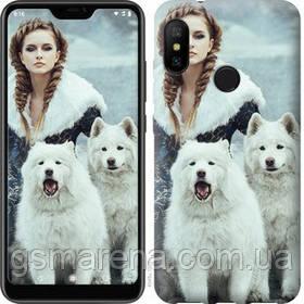 Чехол на Motorola One Winter princess
