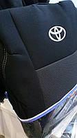 Авточехлы для салона Toyota Corolla 2001-2006 (Elegant)