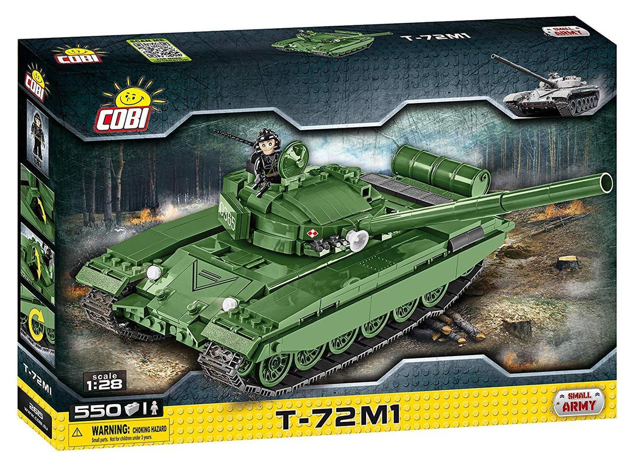 Конструктор Танк Т-72-М1 COBI серия Small Army (COBI-2615)