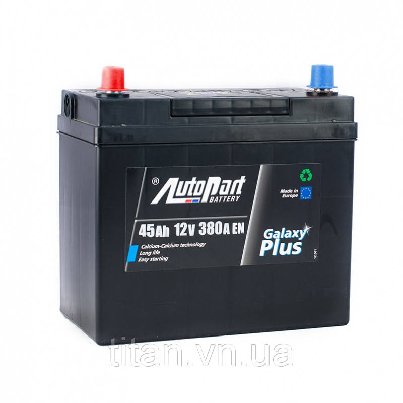 Autopart Japan Plus 45 Ah/12V (левый +)