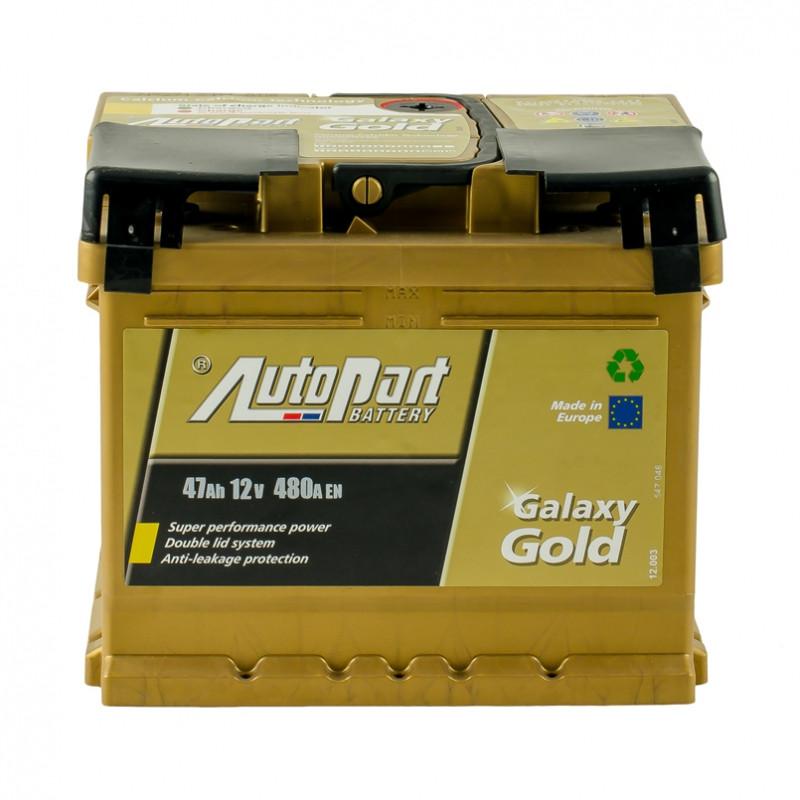 Autopart Galaxy Gold 47 Ah/12V  (правый +)