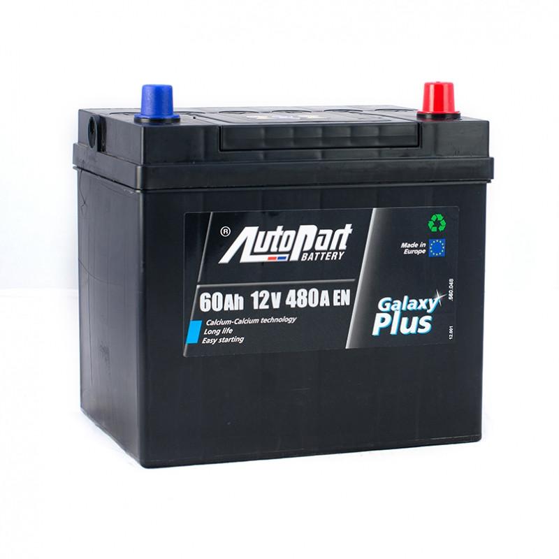 Autopart Plus Japan  60 Ah/12V (правый +)