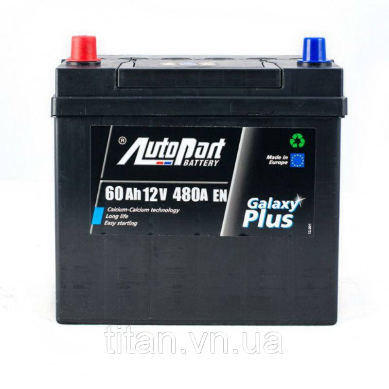 Autopart Japan Plus 60 Ah/12V  (левый +)