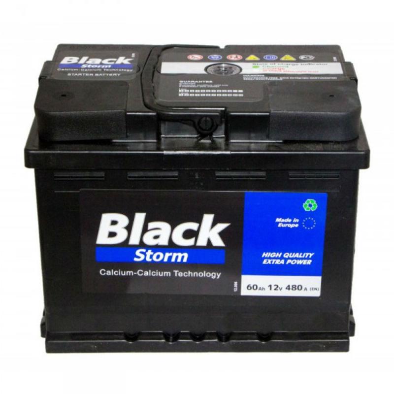 Autopart Euro Black Storm 60 Ah/12V  (правый +)