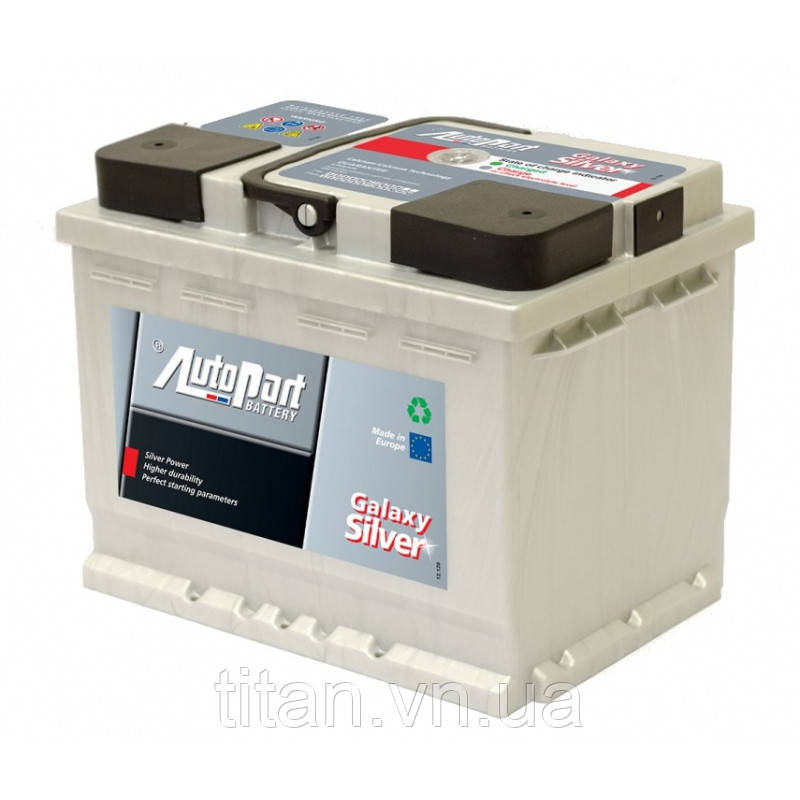 Autopart Galaxy Silver 60 Ah/12V (правый +)