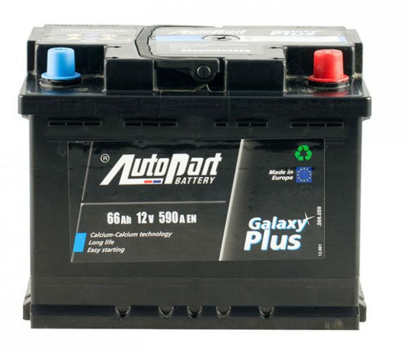 Autopart Plus 66 Ah/12V  (правый +)