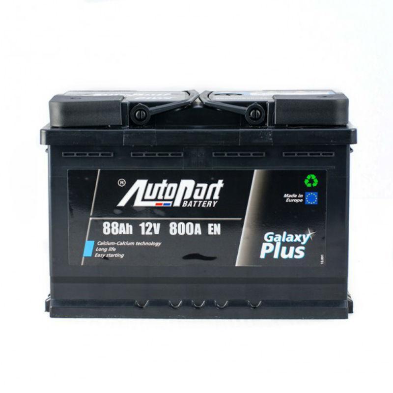88 Ah/12V Euro Autopart Plus (правый +)