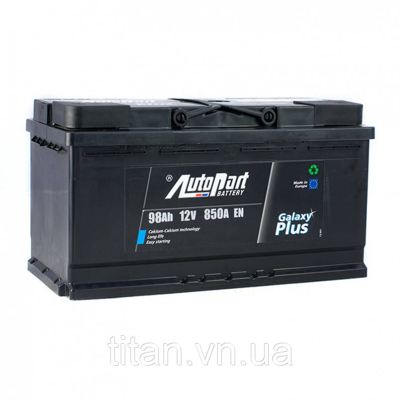 Autopart Galaxy Plus 98 Ah/12V  (левый +)