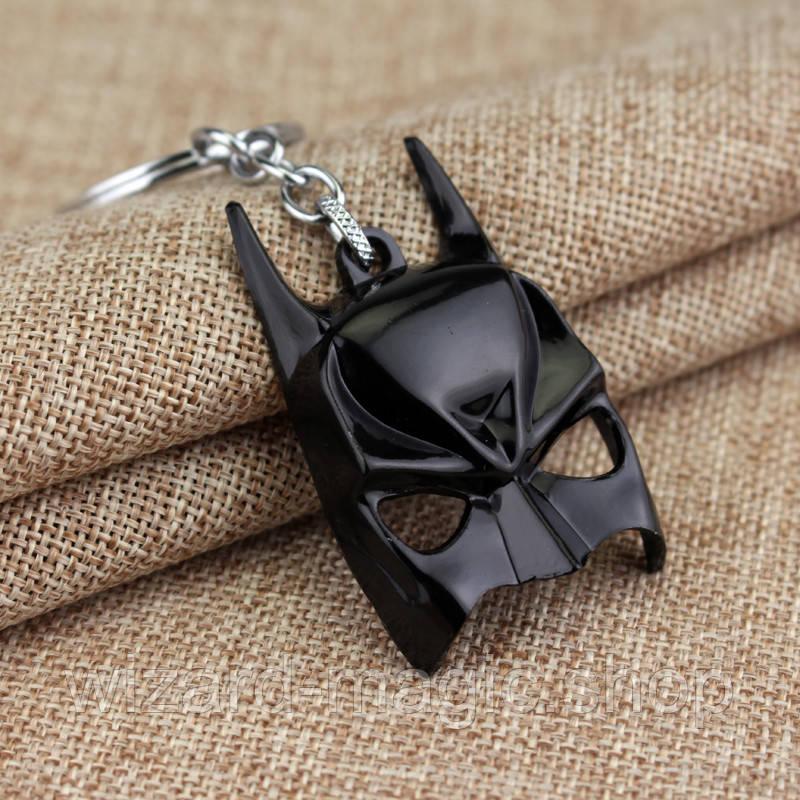Брелок Маска Бетмена черная