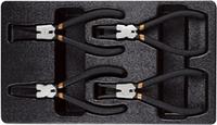 Набор клещей для снятия стопорных колец , 4 предмета AmPro T28953