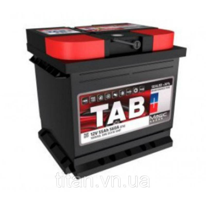 TAB Magic 55 Ah/12V  (правый +) Euro