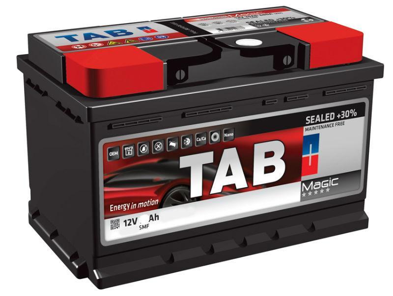 TAB Magic 78 Ah/12V  (правый +) Euro