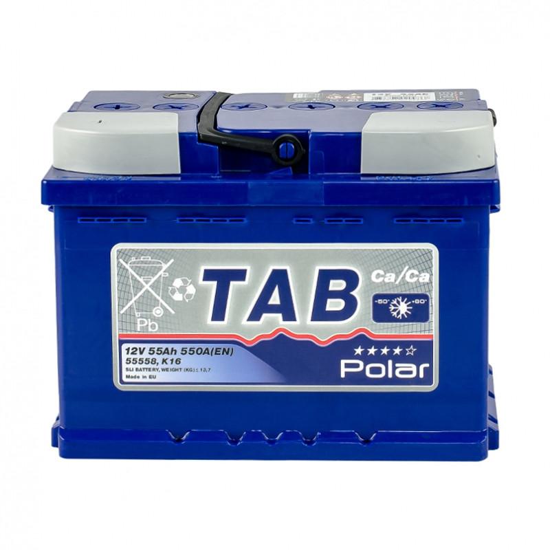TAB Polar Blue55 Ah/12V (левый +)